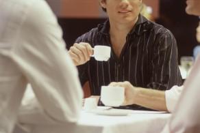 koffie ontmoeting